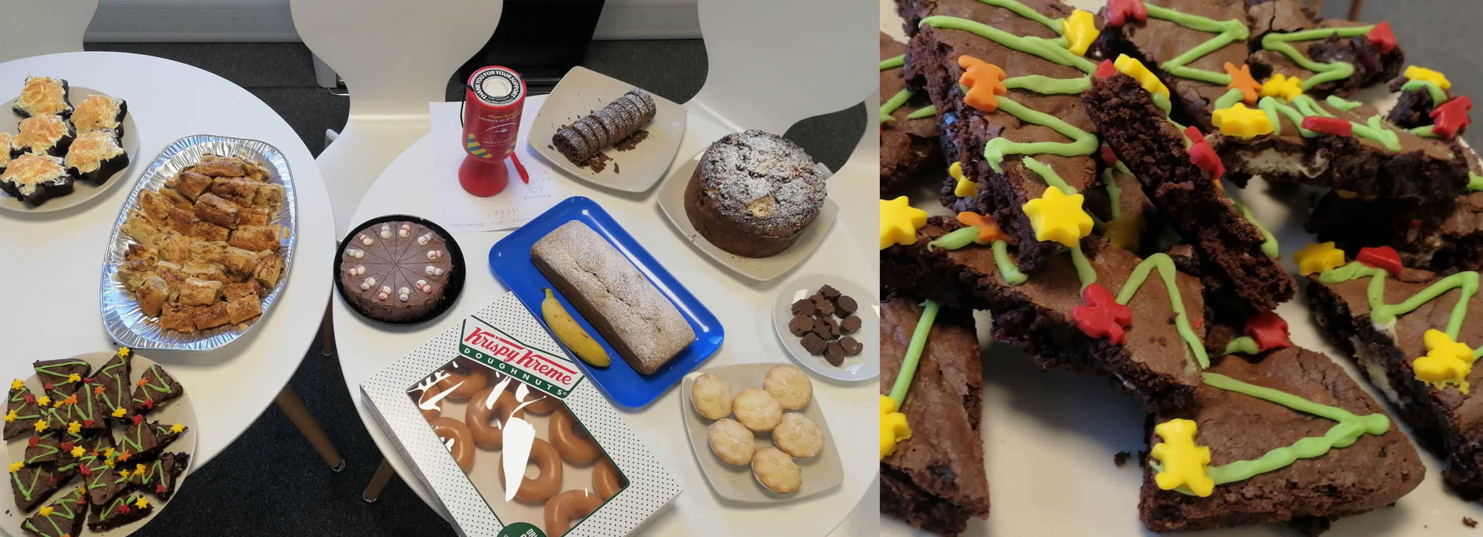Secura's charity Christmas bake sale