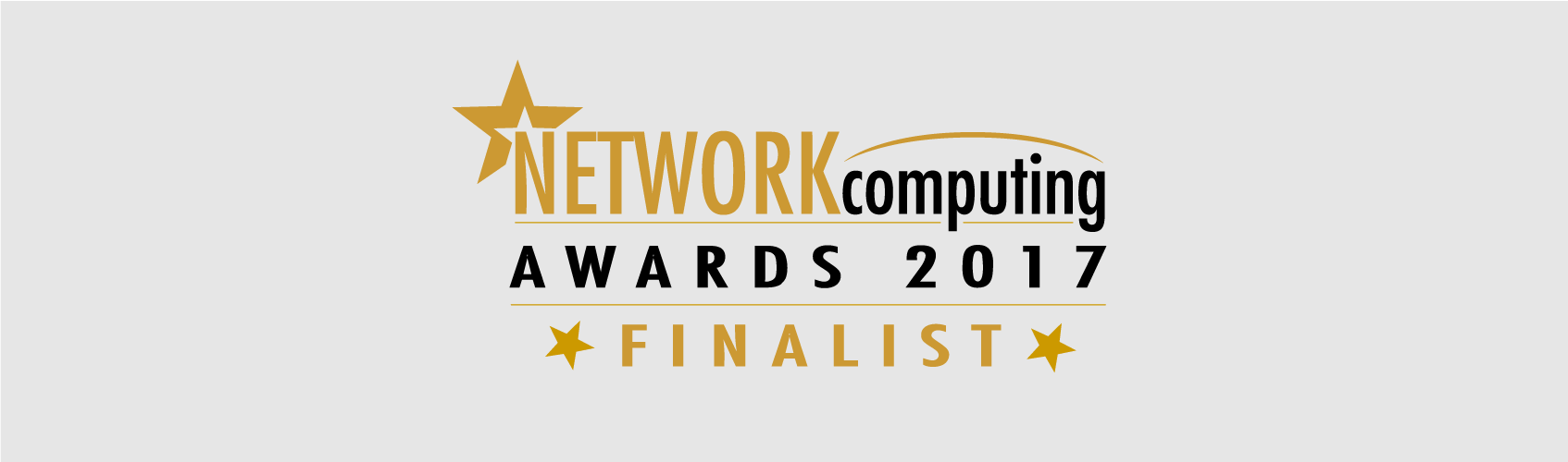 Network Computing Awards - Network Project of the Year Finalist 2017