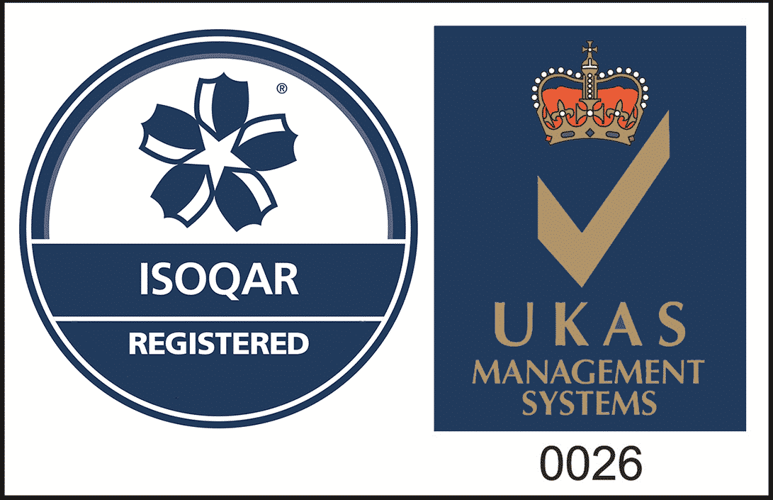 Secura are ISO9001 Accredited