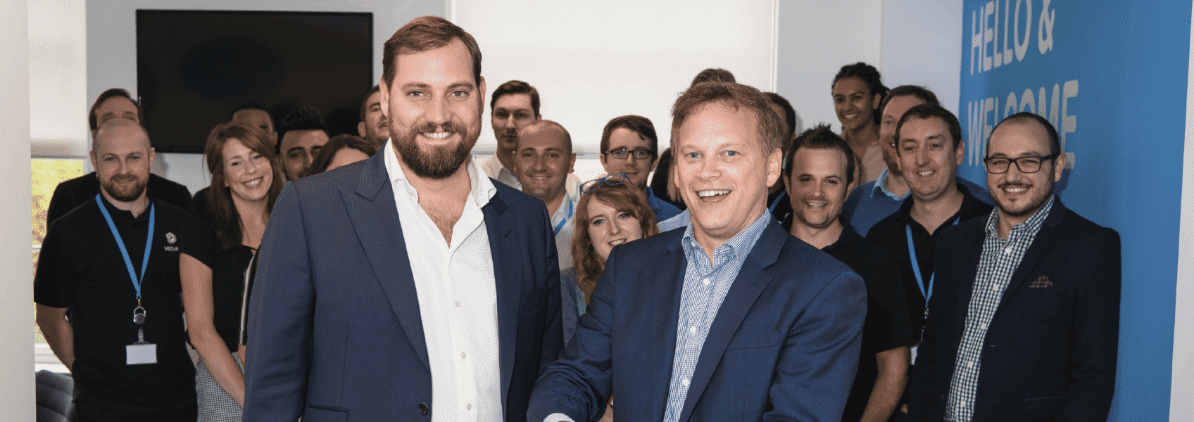 Secura's New Office Opening - Grant Shapps and Olliver Beaton