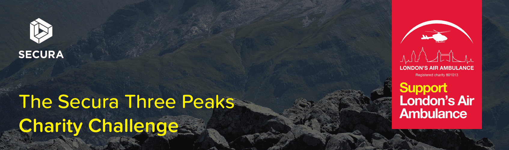 The Secura Three Peaks Charity Challenge
