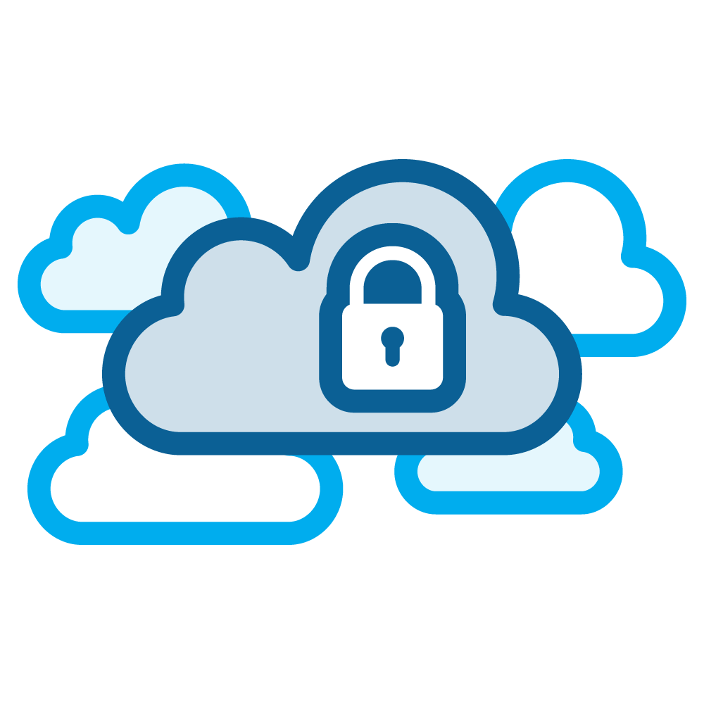 Virtual Private Cloud Icon